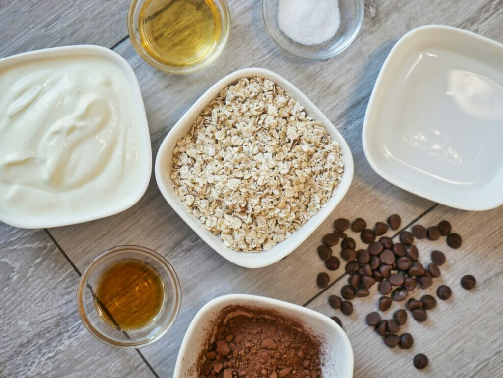 cocoa overnight oats ingredients