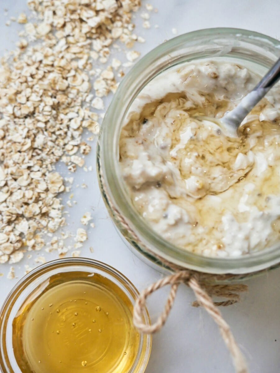 honey overnight oats